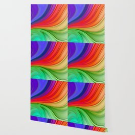 Abstract Rainbow Background Wallpaper