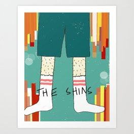 The Shins' Shins Art Print