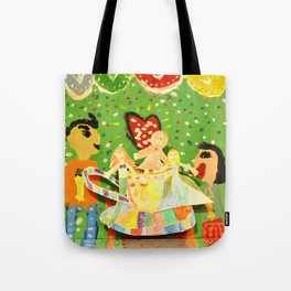 The cup of Rosalia | Full of fairy tales | Painting by Elisavet Tote Bag
