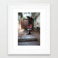 dentist Framed Art Prints featuring Prison Dentist by Edward Ilsen