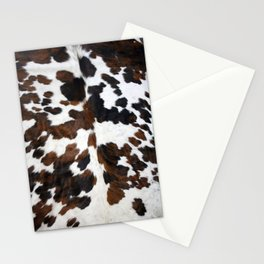 Cowhide Stationery Cards