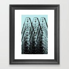 Triple Iron Framed Art Print