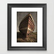 One Proud Boat Framed Art Print