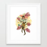 berserk Framed Art Prints featuring Casca by Kerederek