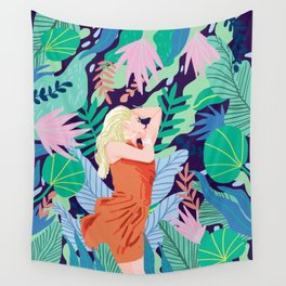 Soulful Garden Wall Tapestry