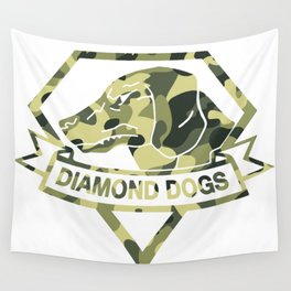 Diamond Camouflage Wall Tapestry