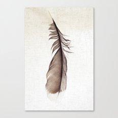 Feather Photograph: Ephemeral Canvas Print