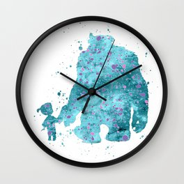 BOO AND SULLY MONSTERS INC Wall Clock