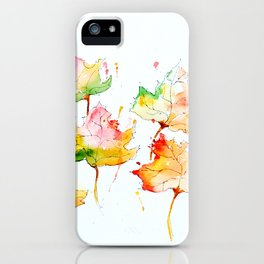 Leaves of Change iPhone Case
