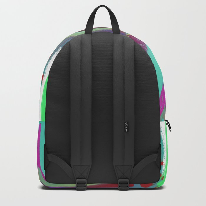 To Be Or Not To Be In Blue Backpack