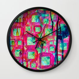 Yeah, Let's Play and Be Happy! Wall Clock