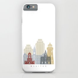 Halifax skyline poster iPhone Case