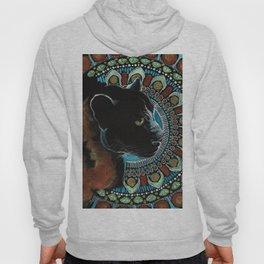 Black Panther Yoga Mandala Hoody
