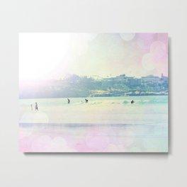 Bright Surfin 1 Metal Print