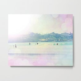 Bright Surfin 1 Metal Print