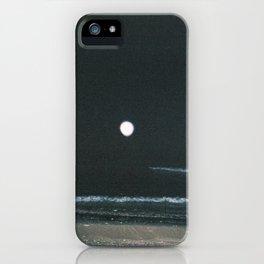 Midnight Tides iPhone Case