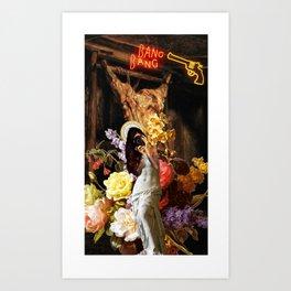 Venus de Milo Selfie. Art Print