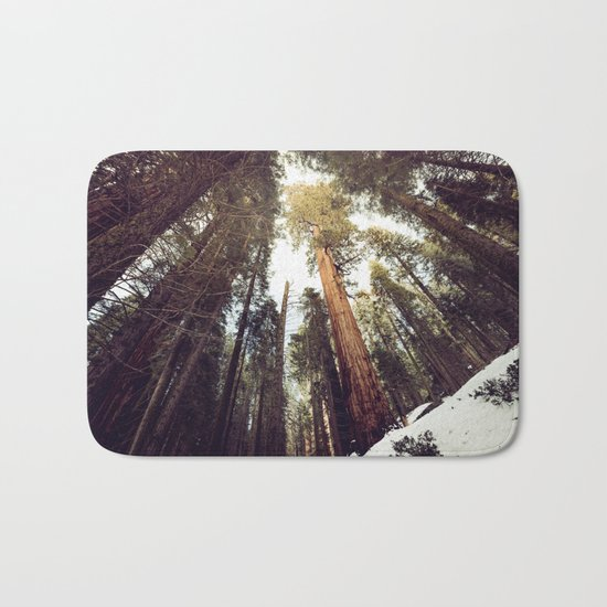 Deep in the Forest Bath Mat