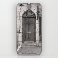 221b iPhone & iPod Skins featuring 221b by v0ff