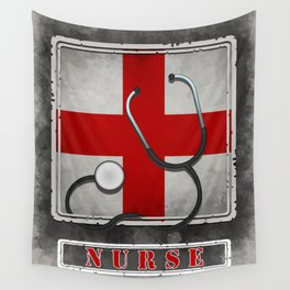 Wanted Nurse Poster Wall Tapestry