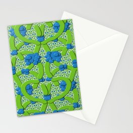 Lattice Floral Design Stationery Cards