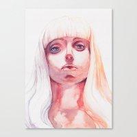 artpop Canvas Prints featuring ARTPOP by Maria Bruggeman