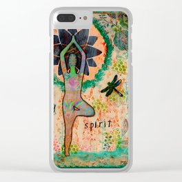 Fusion: Mind, Body, Spirit Clear iPhone Case