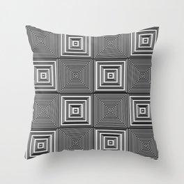 Corridors of Illusion Throw Pillow