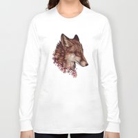 cherry blossom Long Sleeve T-shirts featuring Cherry Blossom by Johanna Tarkela