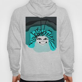 smile on a cloudy day Hoody