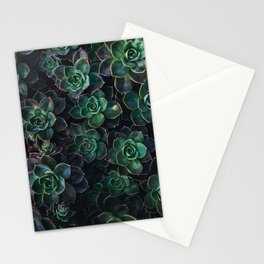 The Succulent Green Stationery Cards
