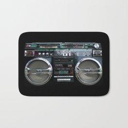 Retro 80's objects - Guetto Blaster Bath Mat