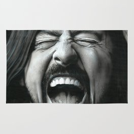 'Grohl In Black III' Rug