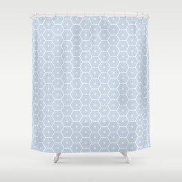 Flower Tiles Shower Curtain