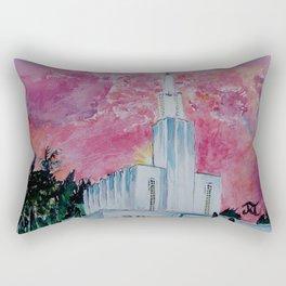 Bern Switzerland LDS Temple Rectangular Pillow