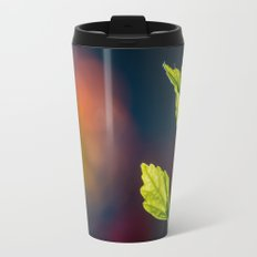 Leaves in a colorful world Travel Mug