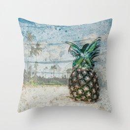 Pineapple Dreams Throw Pillow
