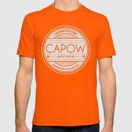 CAPow Art & Design Seal T-shirt