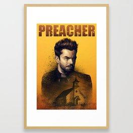 Preacher: Jesse poster Framed Art Print