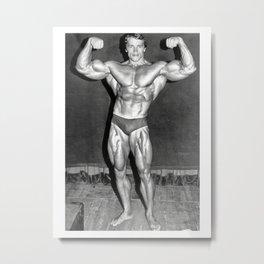 Mr.Universe Poster Bodybuilding Actor Movie Film  Metal Print