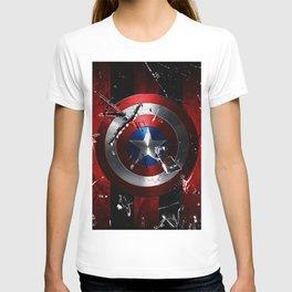 Captain Roger Shield T-shirt