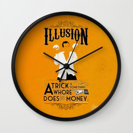 "Arrested Development G.O.B. ""Trick?"" Wall Clock"