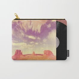 Navajo Country - America As Vintage Album Art Carry-All Pouch
