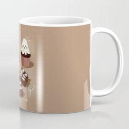 Ghost Spooky Desserts Coffee Mug