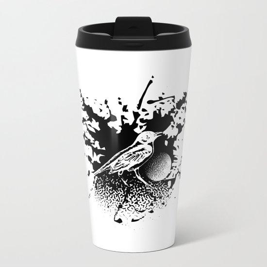 Bird Gard Metal Travel Mug
