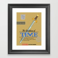 The Adventure of Time Framed Art Print