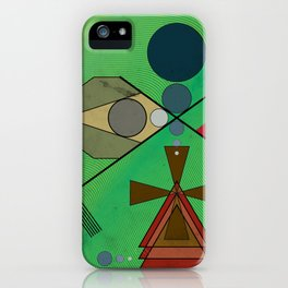 Crazy Golf Abstract Putting iPhone Case