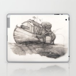 Hanging in a Houseboat Laptop & iPad Skin