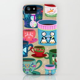 Fa La La La Latte iPhone Case