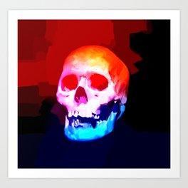 Skull02 Art Print